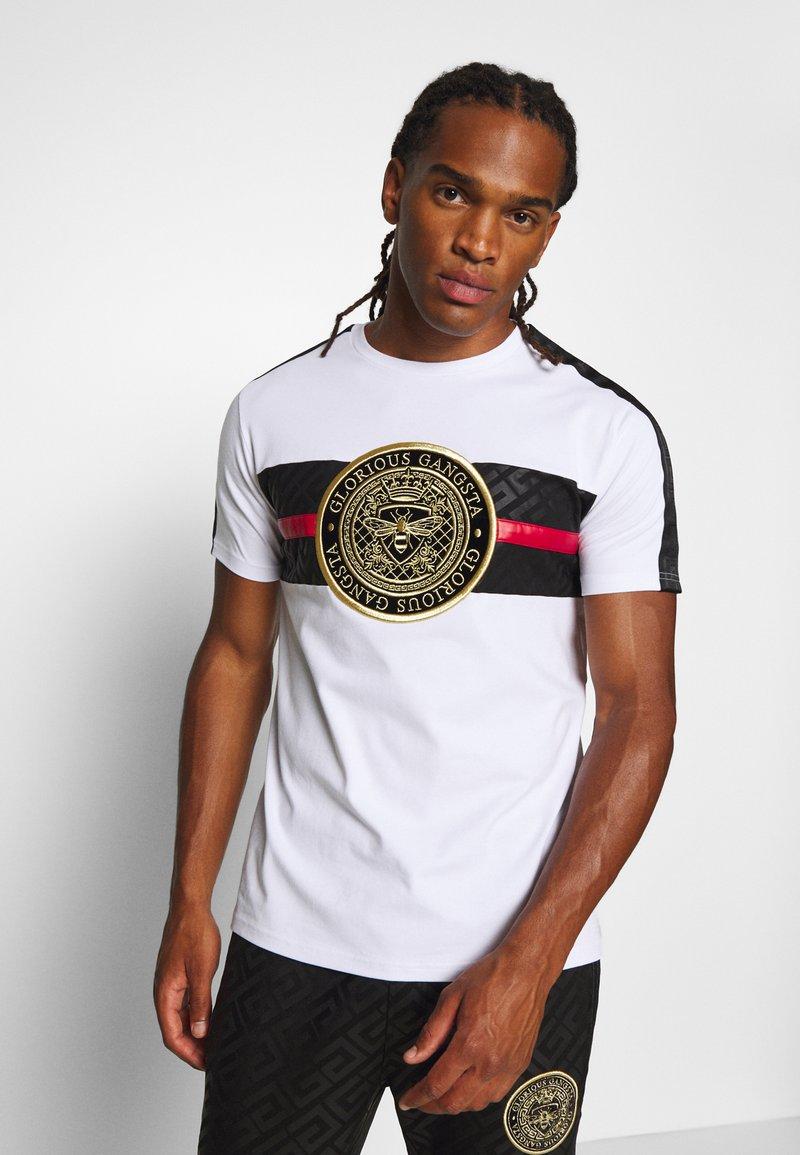 Glorious Gangsta - ALANIS - T-shirt con stampa - white