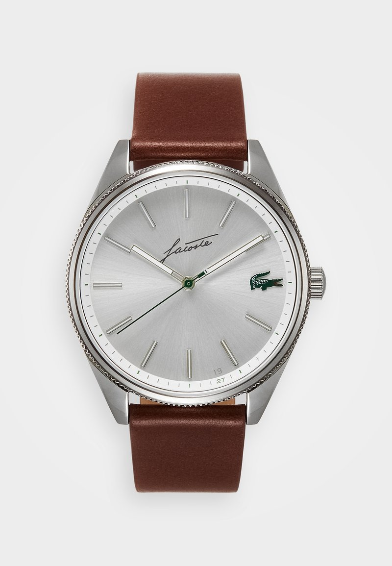 Lacoste - HERITAGE - Hodinky - brown