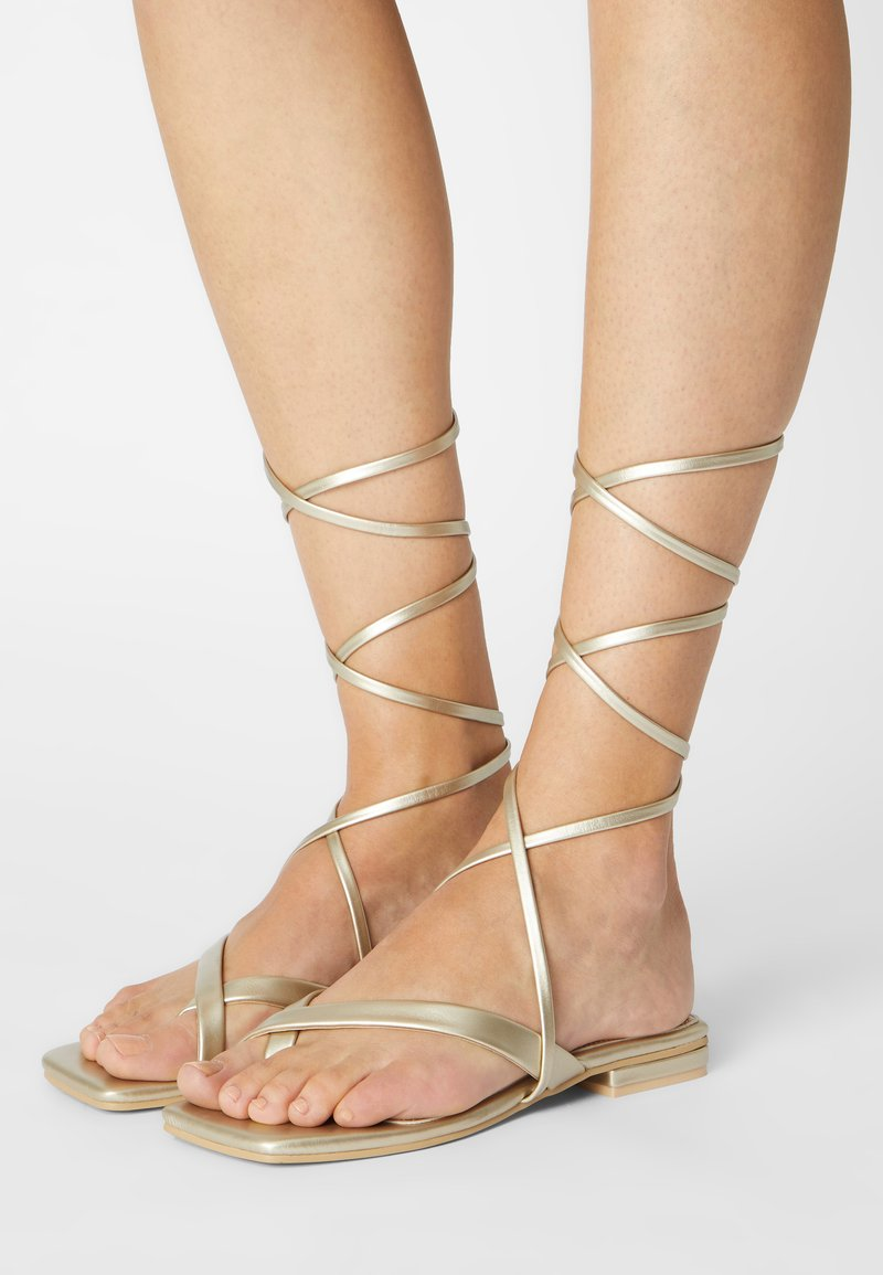 RAID - HAVEN - T-bar sandals - gold