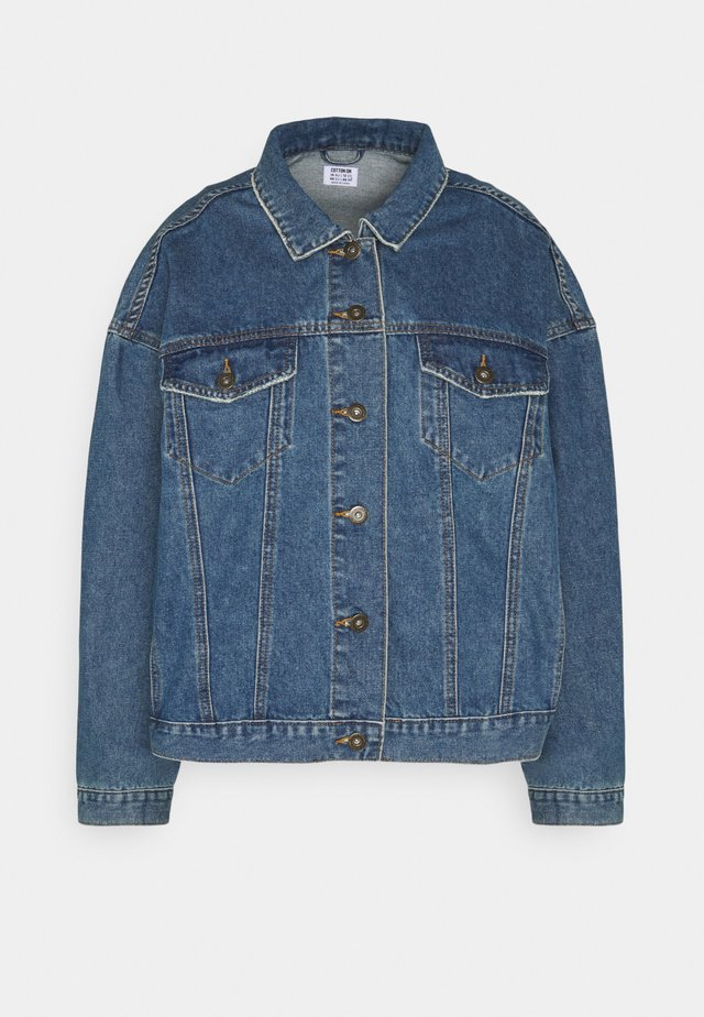BAGGY  - Veste en jean - midnight