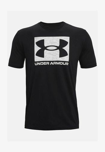 UA ABC CAMO BOXED  - Print T-shirt - black
