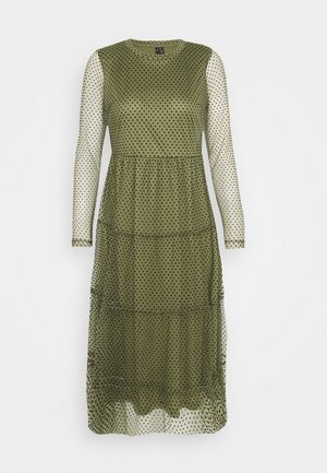 VMJUANA DRESS - Vestido informal - deep lichen green/black