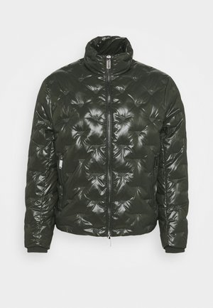 Down jacket - dark green