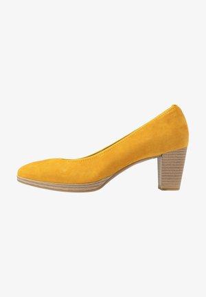 COURT SHOE - Klassiske pumps - saffron