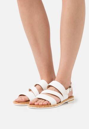GENNY - Sandals - white