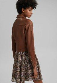 edc by Esprit - Leather jacket - caramel - 2