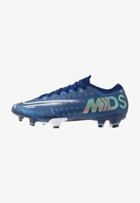 MERCURIAL VAPOR 13 ELITE FG - Moulded stud football boots - blue void/metallic silver/white/black