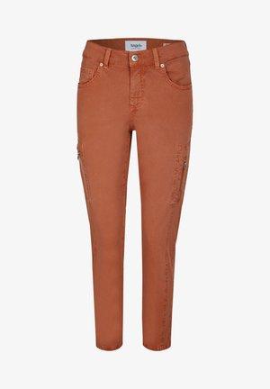 ORNELLA - Cargo trousers - braun