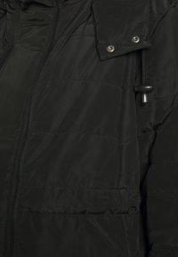 JoJo Maman Bébé - 2 IN 1 LONGLINE PUFFER - Winter coat - black - 3