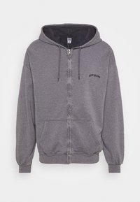 ZIP UP HOODIE UNISEX - Zip-up hoodie - mauve