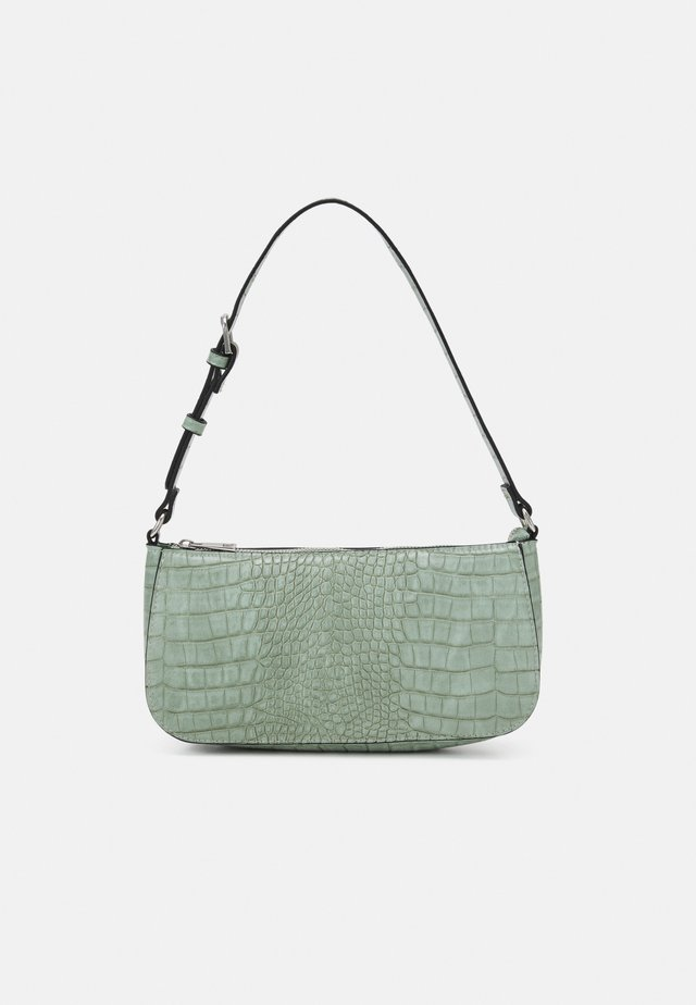 BAG ELLA CROCO - Handtas - light green