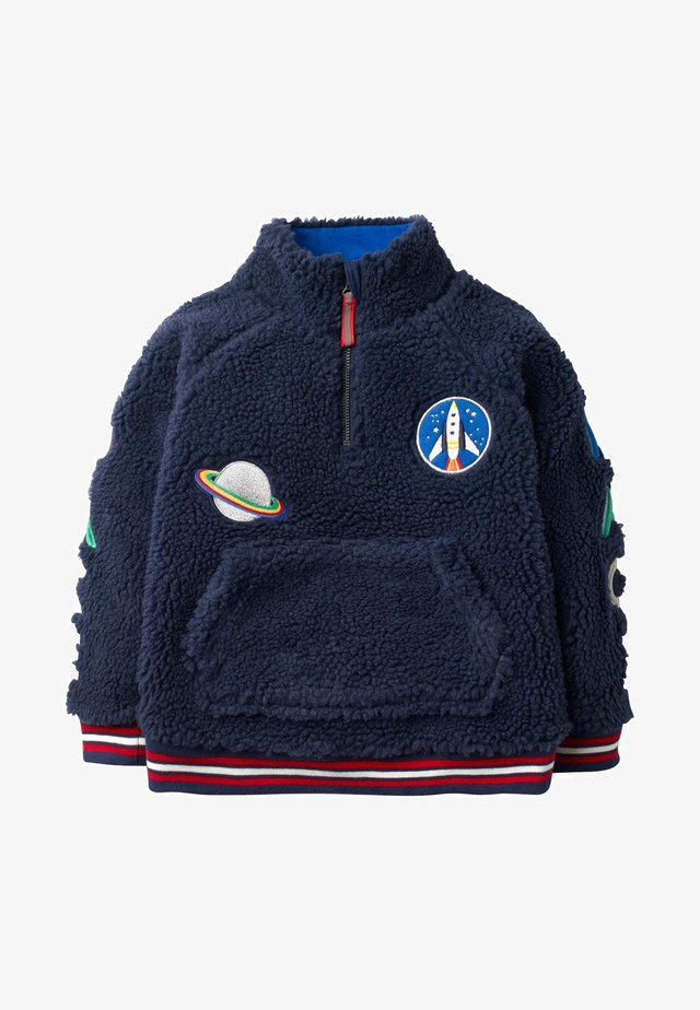 Fleece jumper - schuluniform-navy
