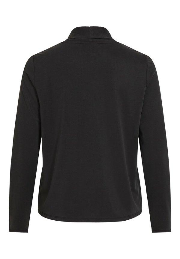 Object Bluzka - black Kolor jednolity Odzież Damska CZQQ WE 4