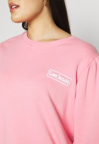 Lee Plus - GRAPHIC - Sweatshirt - la pink - 5