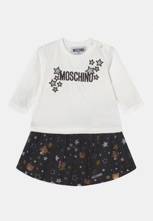 SET - Mini skirt - black