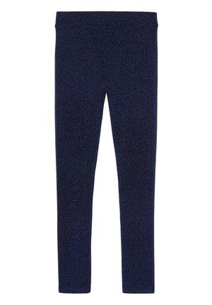 KOMFORT-LEGGINGS MIT GLITZER - Leggings - Stockings - blau - 261c - glitter blu