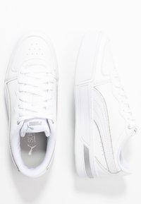 Puma - SKYEMETALLIC - Sneakers - white/silver - 3