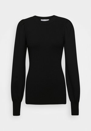 MANDY PUFF SLEEVE - Jumper - black
