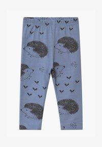 Walkiddy - HAPPY HEDGEHOGS BABY UNISEX - Leggings - Trousers - blue - 0