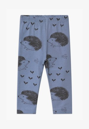 HAPPY HEDGEHOGS BABY UNISEX - Leggings - Trousers - blue