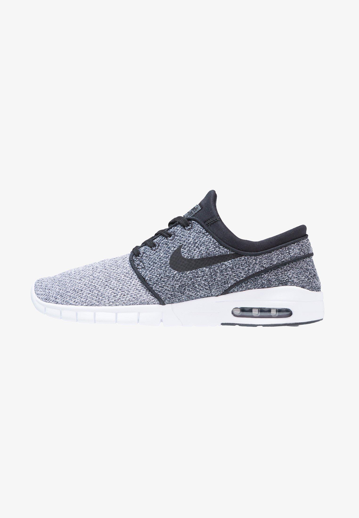 Telégrafo casual Rancio  Nike SB STEFAN JANOSKI MAX - Sneakers laag - white/black/dark grey/Grijs -  Zalando.be