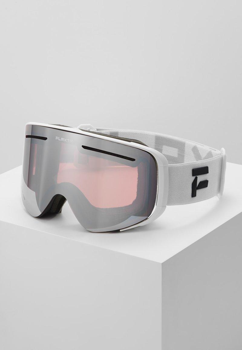 Flaxta - PLENTY - Gogle narciarskie - white