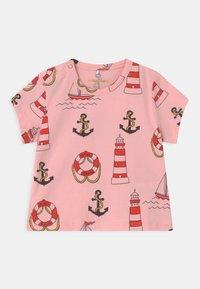 Mini Rodini - LIGHTHOUSE TEE - Print T-shirt - pink - 0