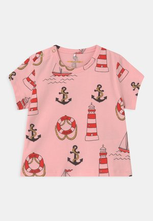 LIGHTHOUSE TEE - Print T-shirt - pink