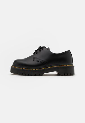 1461 BEX UNISEX - Casual snøresko - black smooth
