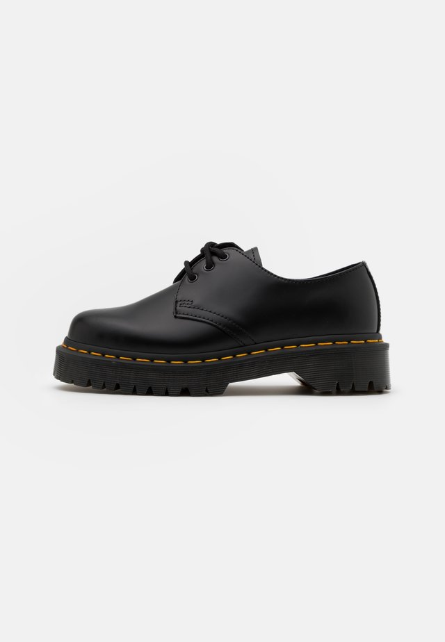 1461 BEX UNISEX - Sporty snøresko - black smooth
