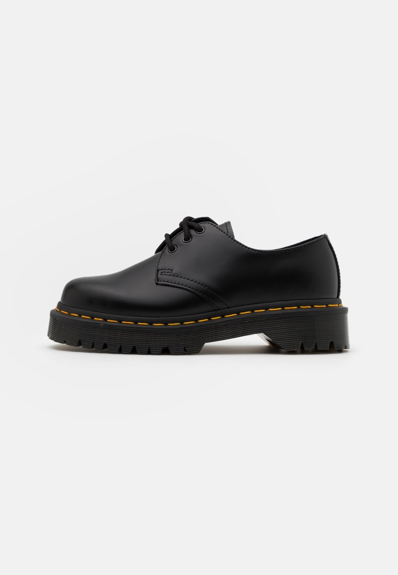 Dr. Martens - 1461 BEX UNISEX - Casual lace-ups - black smooth