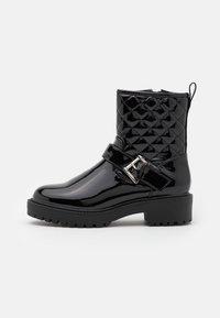CARLA  - Kovbojské/motorkářské boty - black