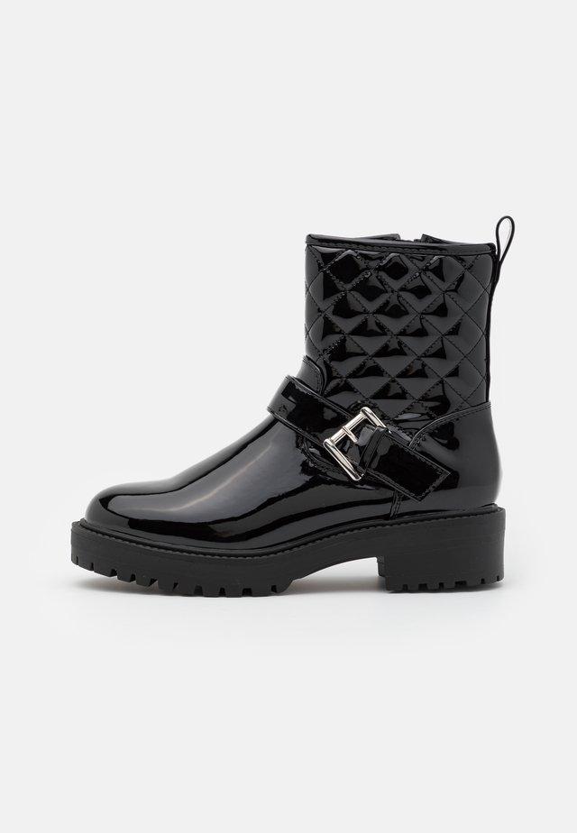 CARLA  - Cowboy/biker ankle boot - black