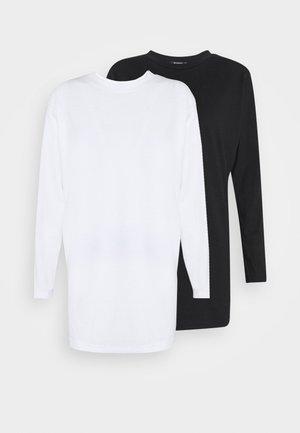 BASIC DRESS 2 PACK - Jersey dress - white