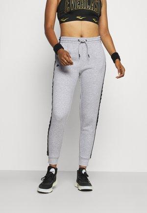 JANTE - Teplákové kalhoty - mottled light grey