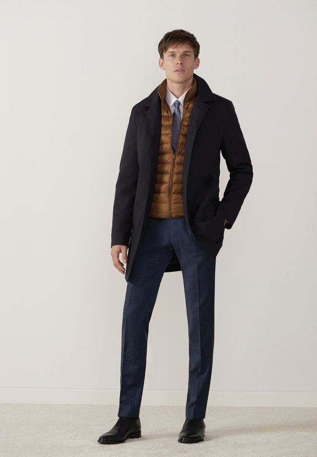 TECHNO  - Classic coat - blau
