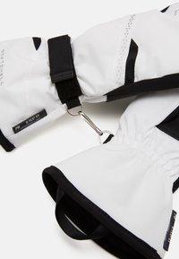 Reusch - HANNAH R-TEX® XT MITTEN - Mittens - white/black - 3