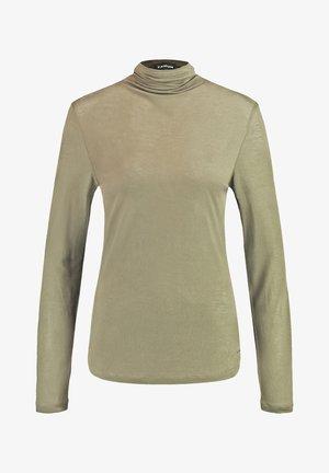 MIT TURTLENECK - Long sleeved top - reed green
