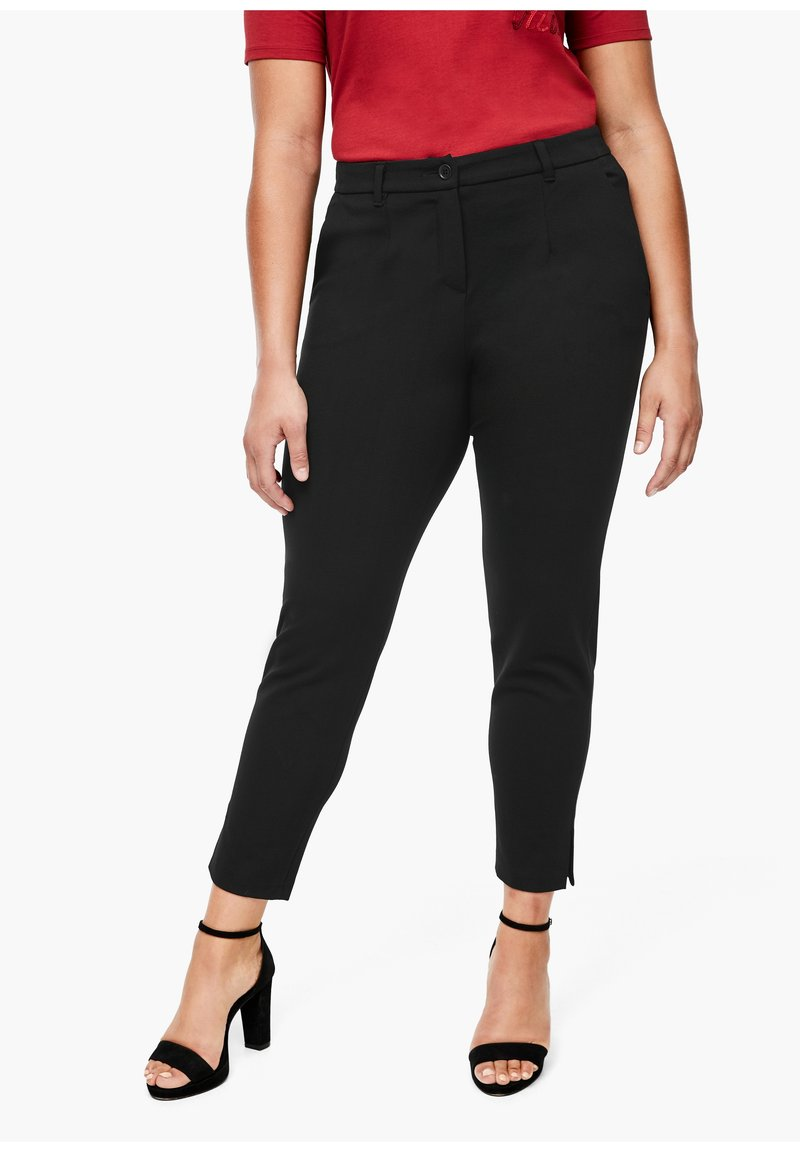 Triangle - Trousers - black