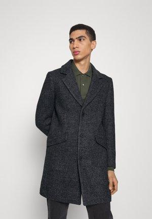 COAT RUSSEL - Classic coat - dark grey melange