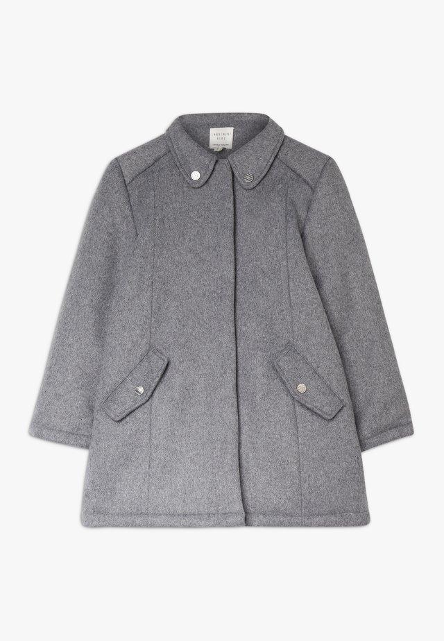 Manteau classique - graumeliert mittel