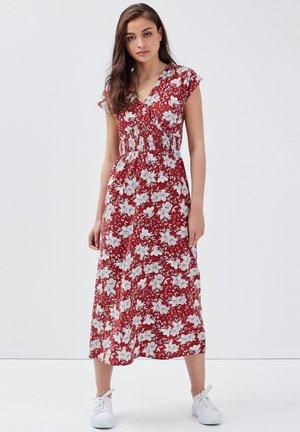 Jersey dress - rouge