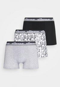 Ellesse - MENS PRINTED 3 PACK - Pants - black/mono - 4