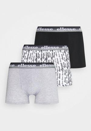 MENS PRINTED 3 PACK - Panties - black/mono
