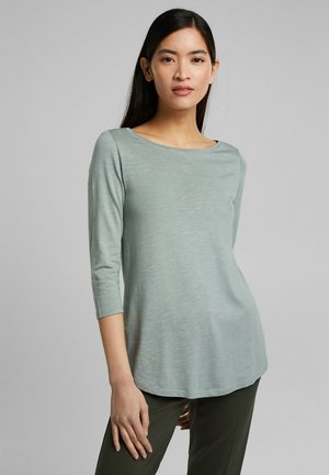 Long sleeved top - turquoise