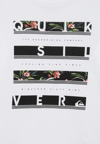 Quiksilver - STACK VISION FLAXTON 2 PACK - T-Shirt print - white/black - 4
