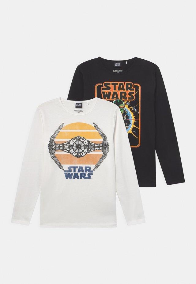 STAR WARS TEEN 2 PACK - Langærmede T-shirts - off-white/black