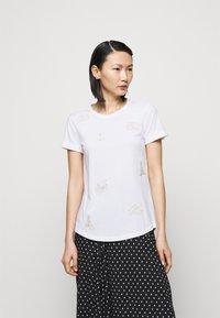 Lauren Ralph Lauren - UPTOWN - T-shirts med print - white - 0