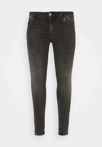 Pieces Curve - PCDELLY - Jeansy Skinny Fit - dark grey denim - 4