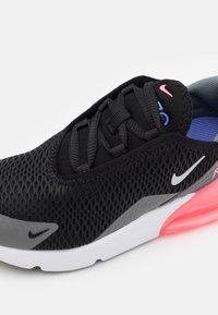 Nike Sportswear - AIR MAX 270 - Sneakersy niskie - black/metallic silver/smoke grey - 5